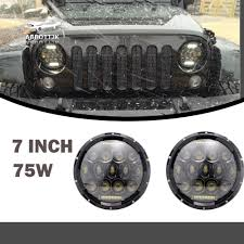 100 7 Ton Military Truck Details About LED Headlight Lite Hummer M998 M923 M35a2 24v Humvee 5