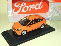 ford 3 portes ford focus st ii phase 2 3 portes orange minichs ebay