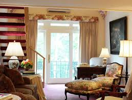 Floral Curtains For Living Room With Valance