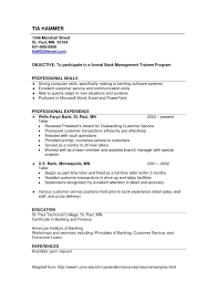 Hr Manager Resume Beautiful Sample Retail Banking Operations Of New Marketing Director