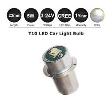 maglite 5w cree led bulb outdoor torch light l 3 4 5 6 9 12 18