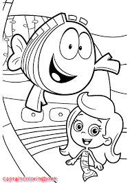Bubble Guppies Coloring Book