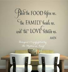 Wall Decor Words Wood Wooden On The Decals Kitchen