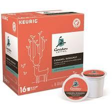 Caribou Coffee Caramel Hideaway Flavored Medium Roast