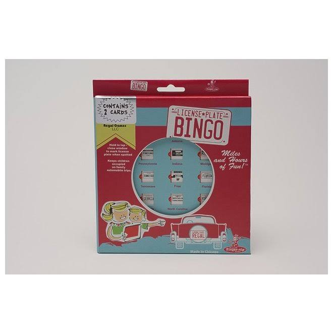 Regal Travel Auto Bingo Game Card, Assorted Color