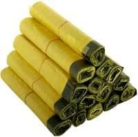 gelber sack 10 rollen à 13 stück 130 müllsäcke 90 liter mit zugband