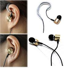 Headphones In Ear Bass Earphones with microphone Noise isolating