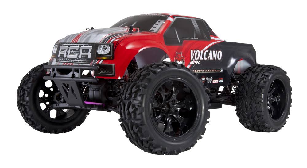 Redcat Racing Electric Volcano EPX RC Vehicle Truck - Red
