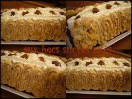 hervé cuisine buche marron bûche aux marrons et crème brûlée à la pistache aux becs sucrés salés