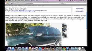 Craigslist Salt Lake City Utah - Used Cars, Trucks And Vans For Sale ...