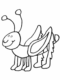 Unusual Bug Coloring Page Bugs Pages For Kids