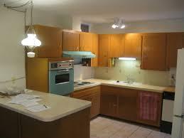 Original Kitchen Cabinets Blue Oven Range Exhaust Hood 1962 1960s Phoenix Home