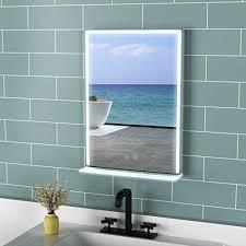 mit abgerundeten kanten modern und stylish spiegel 70cm x