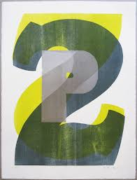 P22 Letterpress Wood Type Poster Print 2
