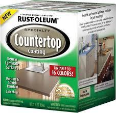 Bathtub Refinishing Kit Menards by Rust Oleum Specialty Tintable Countertop Coating Kit At Menards