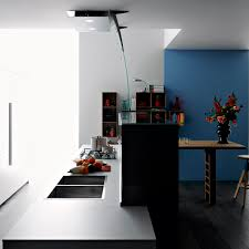 Contemporary Kitchen Laminate Island Handleless