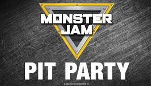 Monster Jam Pit Pass: Preshow Pit Party From 10:30am - 12:00pm In ...