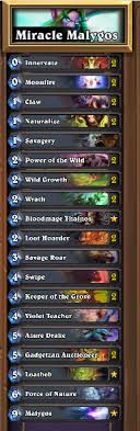 miracle malygos druid to legend hearthstone