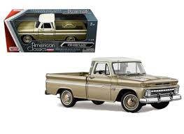 1966 Chevrolet C-10 Fleetside Pickup Truck Gold 1/24 Scale Diecast ... 1956 Ford F100 Pickup Truck 124 Scale American Classic Diecast World Famous Toys Diecast Trucks F150 F 1953 Car Package Two 143 Scale 2016f250dhs Colctables Inc New 1940 Black 125 Model By First Chevrolet Chevy 2017 Dodge Ram 1500 Mopar Offroad Edition Hobby 1992 454 Ss Off Road Danbury Mint For 1973 Ranger Red White 118