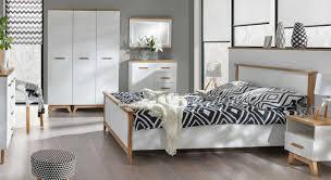 7 tlg schlafzimmer set komplett schlafmöbel schrank nachttische kommode bett