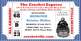 My Day On The National Crochet Month Blog Tour. Includes ...