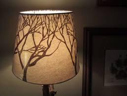 Medium Size Of Lamprustic Lamp Shades Rustic Cabin Tree Branch Twig Pattern