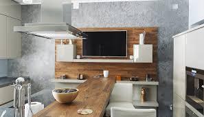 küchen idee moderne küche mit tresentisch deko