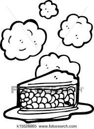 Clipart hot cherry pie cartoon Fotosearch Search Clip Art Illustration Murals