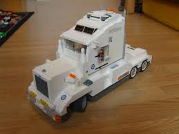 100 Lego Remote Control Truck LEGO IDEAS Product Ideas White Remotecontrolled Truck