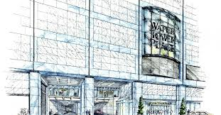 100 Grand Designs Water Tower Retail Design Place Chicago USA WATG