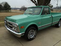 100 69 Gmc Truck 2wd Pickup Classic Show Original Motor Transmission 305 V6