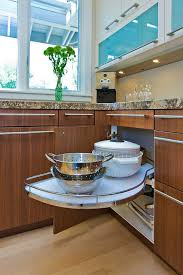 Upper Corner Kitchen Cabinet Ideas by Kitchen Furniture Contemporary Oak Corner Cabinet Corner