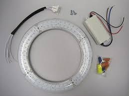 8 transparent ul circline led day light 5500k in