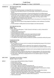 Nurse Recruiter Resume Samples Velvet Jobs Sample As Image File Example Objective Examples Hr