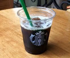 Starbucks Black Americano Vegan