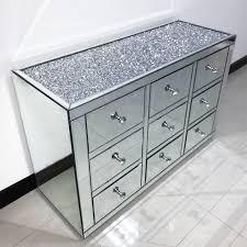 chest hoch schubladen große gespiegelt schrank sideboard buffet schrank buy verknallt diamant möbel wohnzimmer möbel gespiegelt sideboard