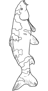 Koi Fish Pattern Coloring Pages PagesFull Size Image