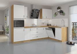 küche stilo weiß eiche artisan küchenzeile küchenblock einbauküche winkelküche
