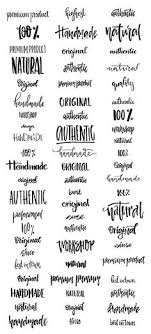 Creative Lettering The Art Of Beautiful Words Font Ideas For Your Bullet Journal Invitations And Other Projects