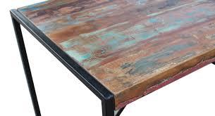 sit esstisch bali aus buntem altholz 145x70