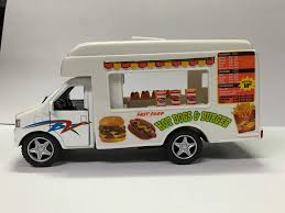 Amazon.com: Pull-Back 5 Inch Die Cast Food/Lunch Truck By KinsFun ...