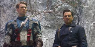Captain America And Bucky In The First Avenger