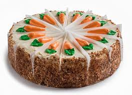 "David s Cookies Gourmet Layered and Sliced 10"" Carrot Cake with Cream Cheese Icing Amazon Grocery & Gourmet Food"