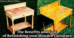 The Benefits and Cost of Refinishing your Wooden Furniture