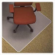 Desk Chair Mat For Carpet by Office Chair Mat For High Pile Carpet Comfy Lorell Medium Pile