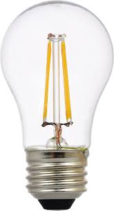 sylvania filament led light bulb 40w equivalent a15 e26 clear