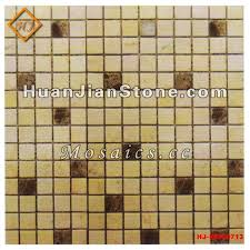 Shell Stone Tile Manufacturers by Black And White Mosaic Floor Tile Supplier Huanjian Supply Black