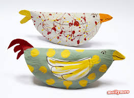 Chicken Paper Plate Crafts For Kids