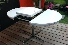 cuisine en u avec table table cuisine alinea console extensible en table de repas l160cm 8