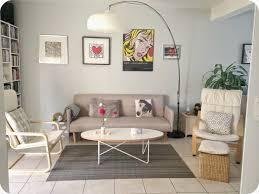 salon avec canapé gris deco salon canape gris